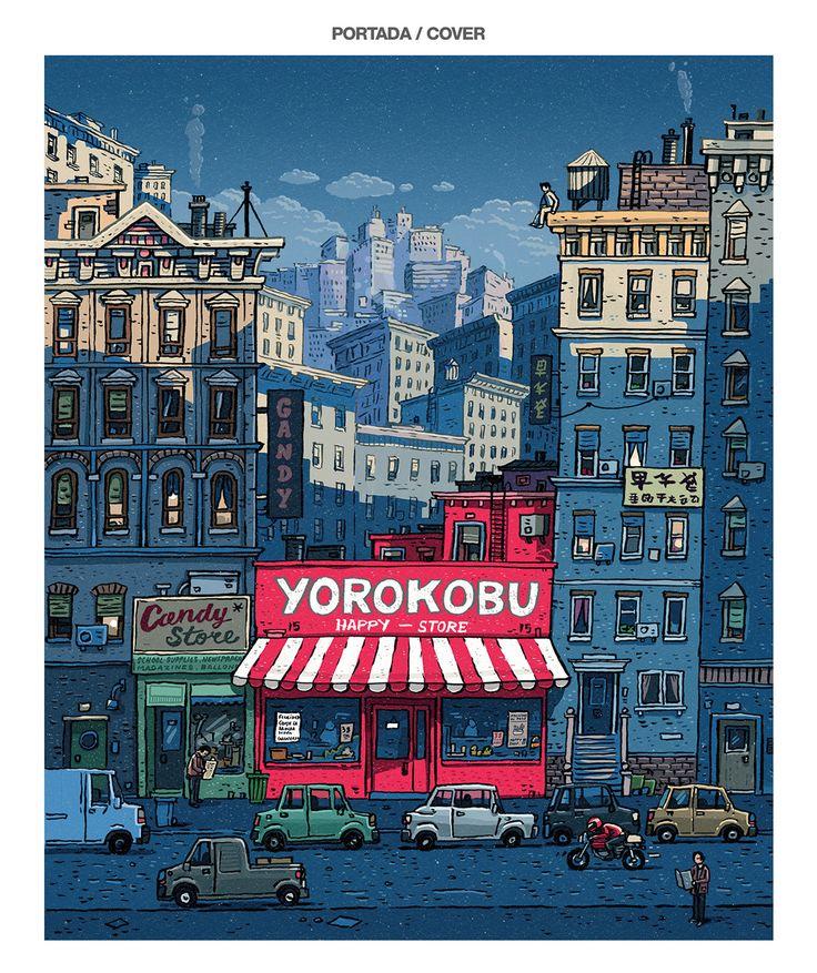 Yorokobu / Cover and back cover on Behance