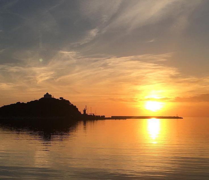 Μύρινα   Λήμνος sunset, photo by 📷: Στέφανος Μπαγάνης