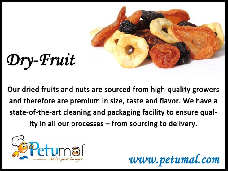 Dry Fruits Petumal - Raise your Hunger #Dryfruits #nutrition #Healthy #orderonline  www.petumal.com