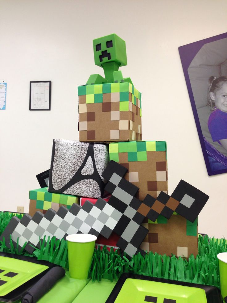 Minecraft table decorations