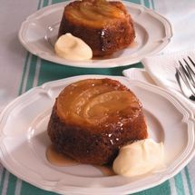 Spiced Apple Upside Down Puddings
