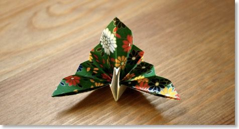Paon | Les Origami de Senbazuru - L'origami facile