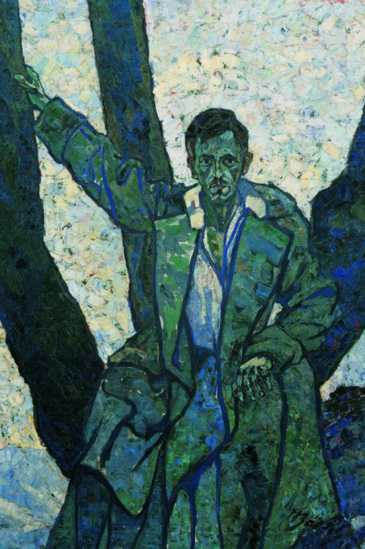 Herbert Boeckl (German, 1894 - 1966)  Bruno Grimschitz, 1915  Oil on canvas  Belvedere, Vienne, Austria