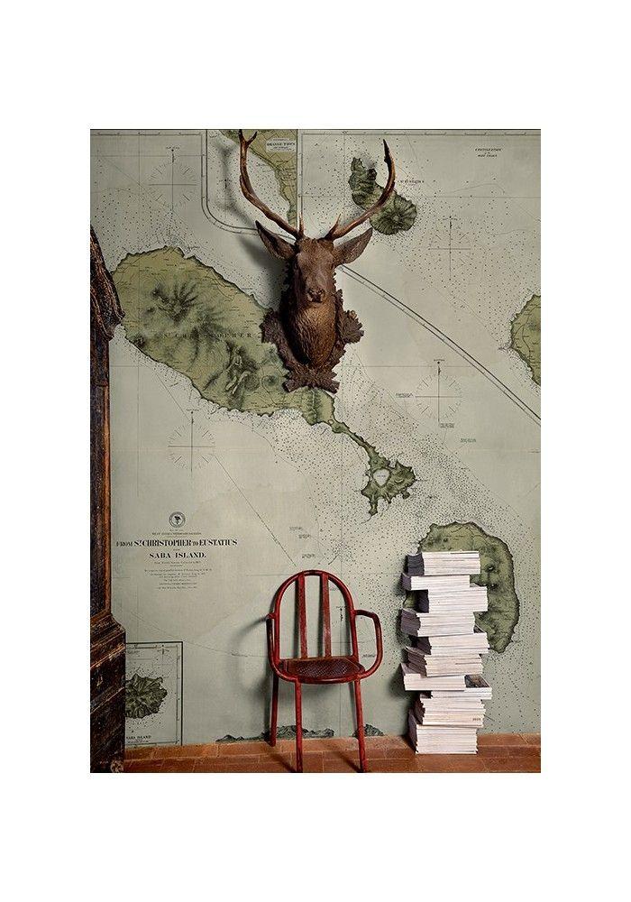 15 pingles papier peint carte incontournables carte for Ancienne collection maison du monde
