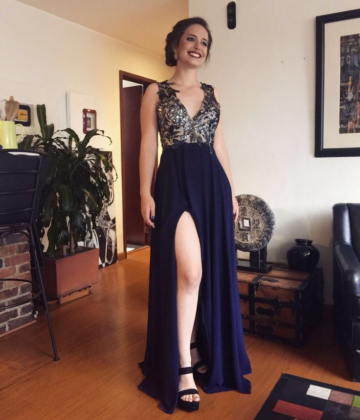 Valentina Umaña ready for her prom