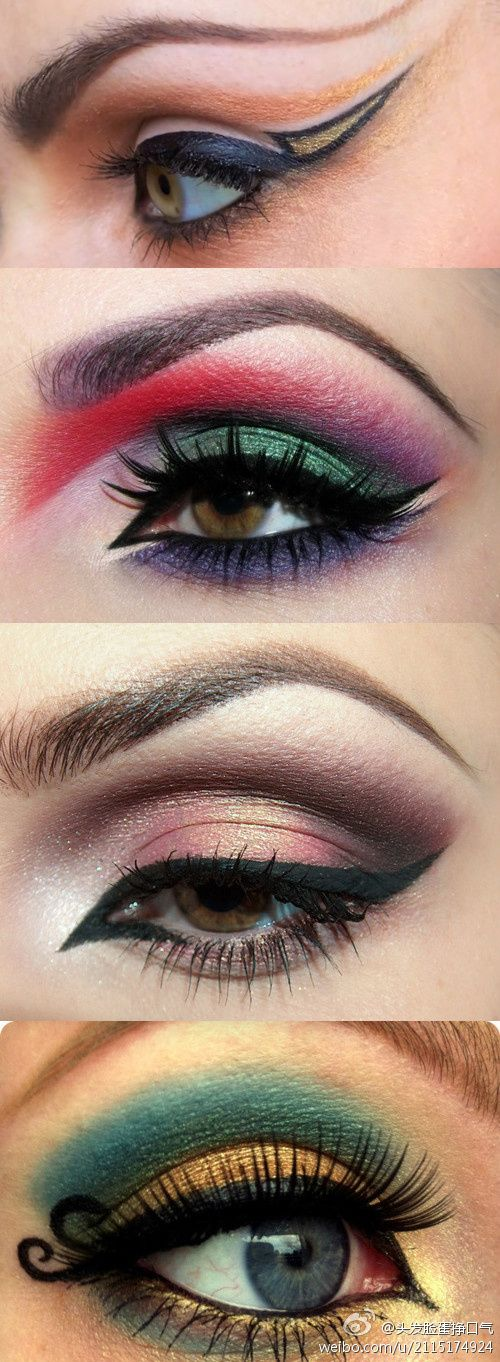 cool makeup (wish I could do the liquid liner thing)