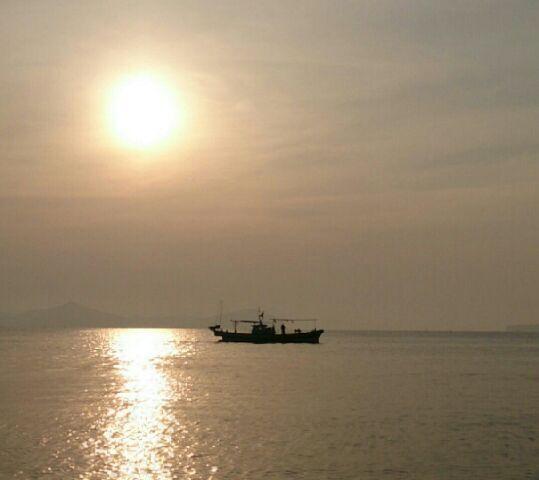 漁師【光栄丸】とハンドメイド♪:朝の景色