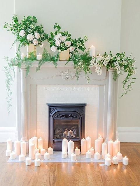 Fireplace Decoration best 25+ wedding fireplace decorations ideas on pinterest