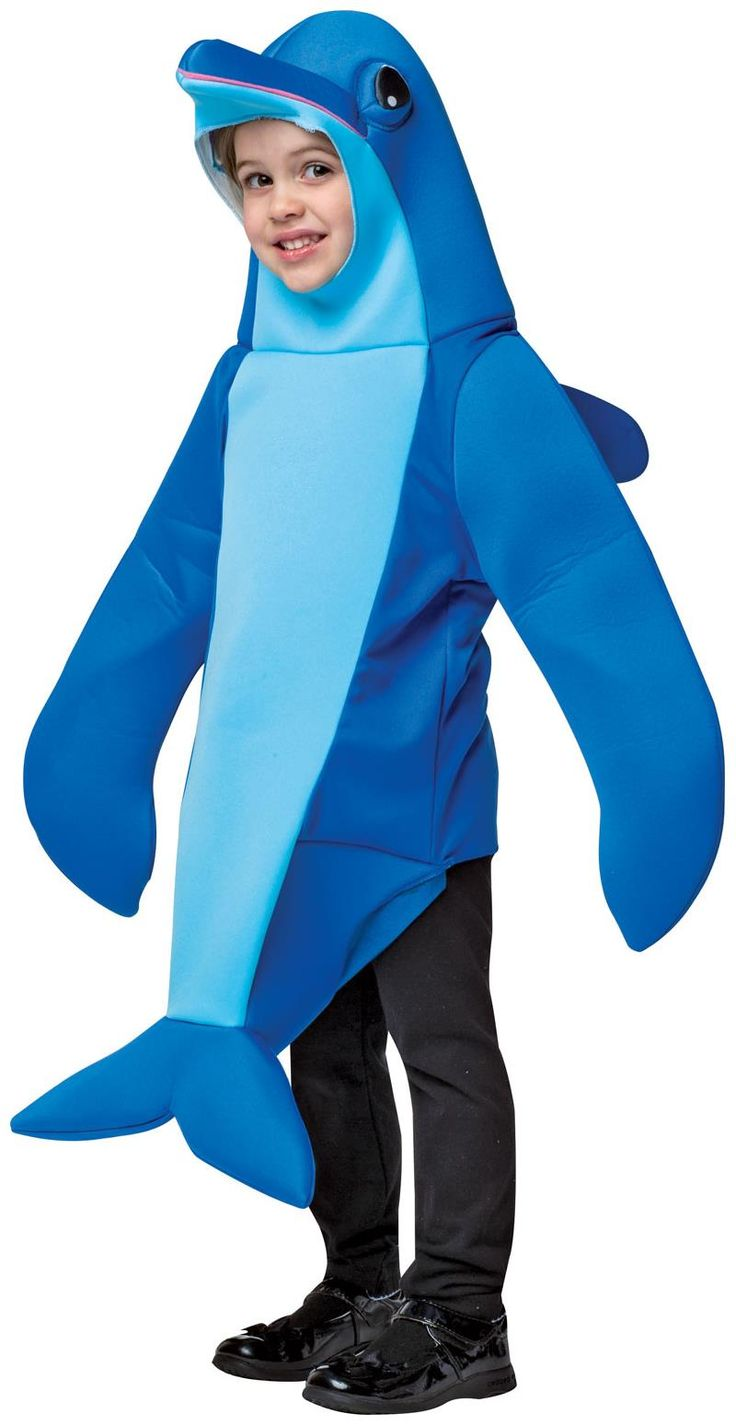 PartyBell.com - #Dolphin Child Costume