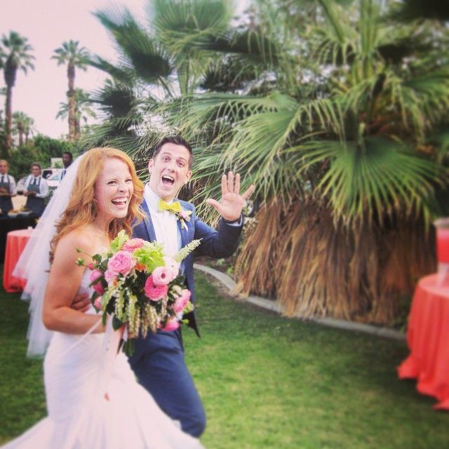 Katie Leclerc was a beautiful bride. We loved her wedding dress! | Switched at Birth