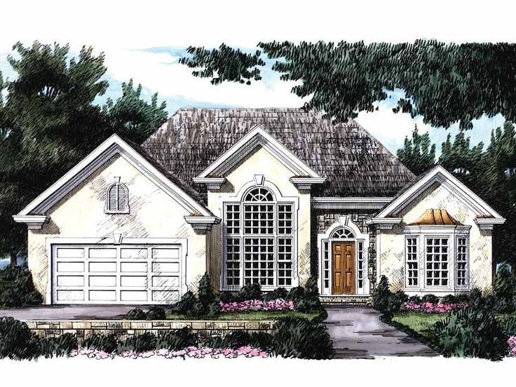 Eplans new american house plan cheerful first impression for American dream homes plans