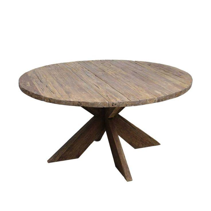 Die besten 25+ runder Holztisch Ideen auf Pinterest Runde tische - runde esstische modern ausziehbar