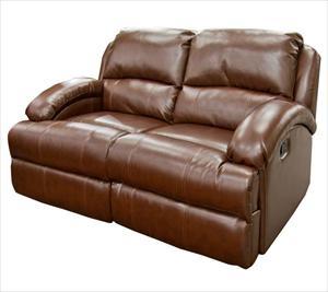 Nebraska Furniture Mart Manwah Holding Limited Bonded Dual Reclining Loveseat