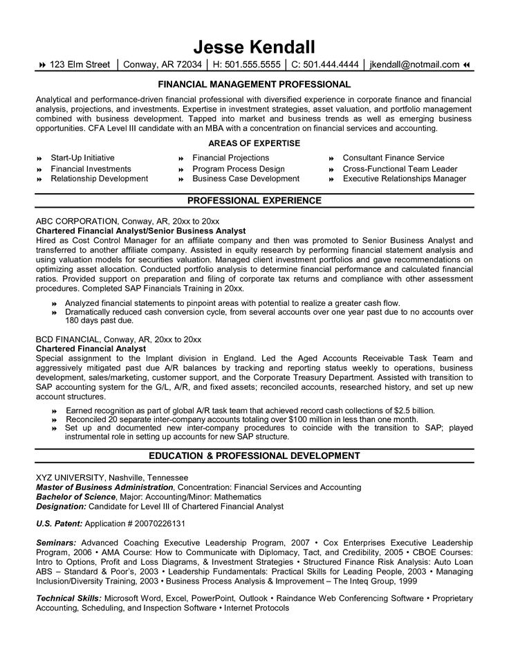 Accounting Internship Resume Objective Alluring 70 Best Useful Info Images On Pinterest  Resume Templates .