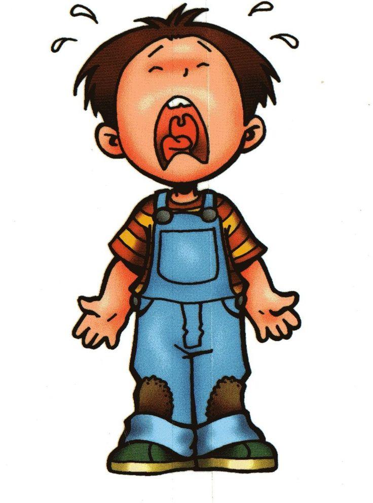Плач ребенка в картинках