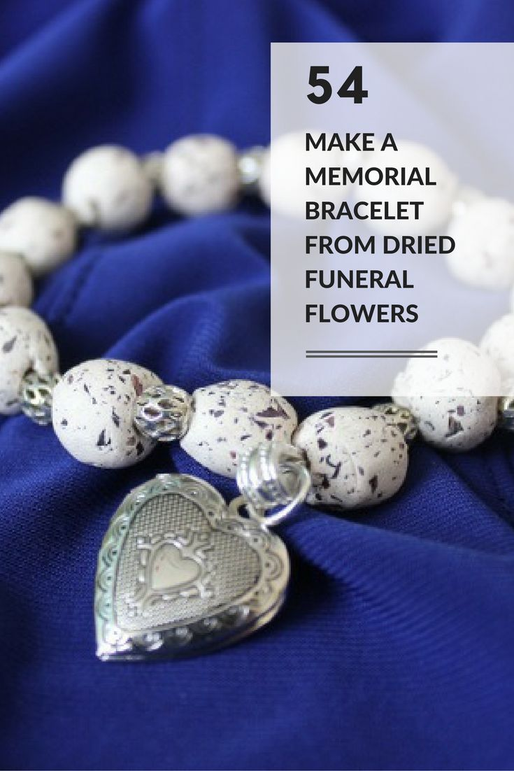 The 12 best rosary making images on pinterest prayer beads celebration of life idea 54 turn dried funeral flowers into beads and assemble izmirmasajfo