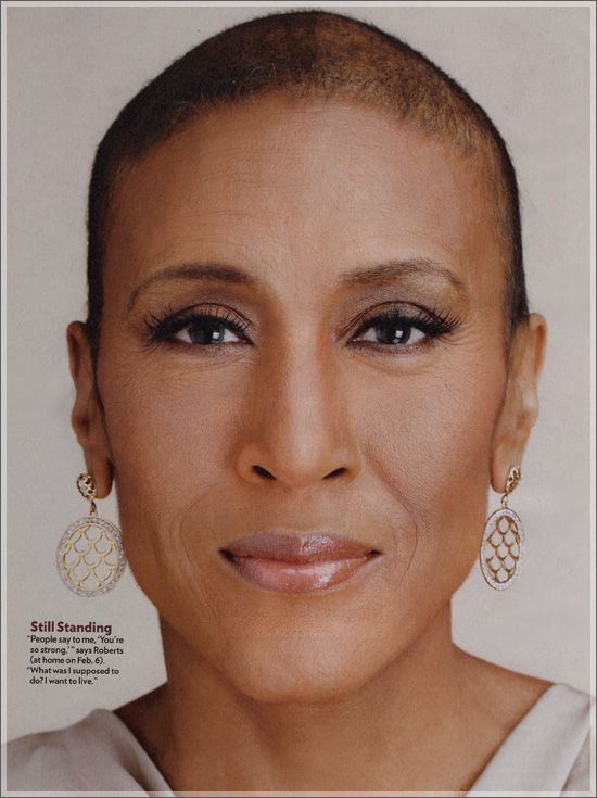 Robin Roberts ~  Still Standing! Congrat's Ms. Roberts you are a testimony!!