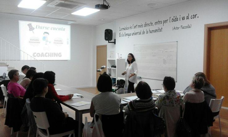 Taller de Coaching para Madres y Padres. Escuela de Música CODA, Gata de Gorgos, 2017