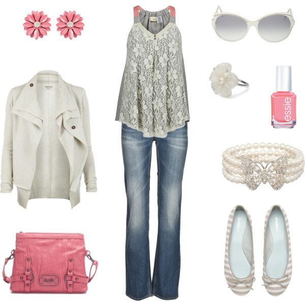 Everyday Casual, created by shirell on Polyvore: Bracelets, Cute Outfits, Pink Grey, Jackets Not, Clothing Outfits, Pink Accent, Everyday Casual, Boots, Shirel Polyvore Com