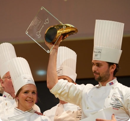NORWAY The Winner of Bocuse d'Or Europe...  World Cooking Contest