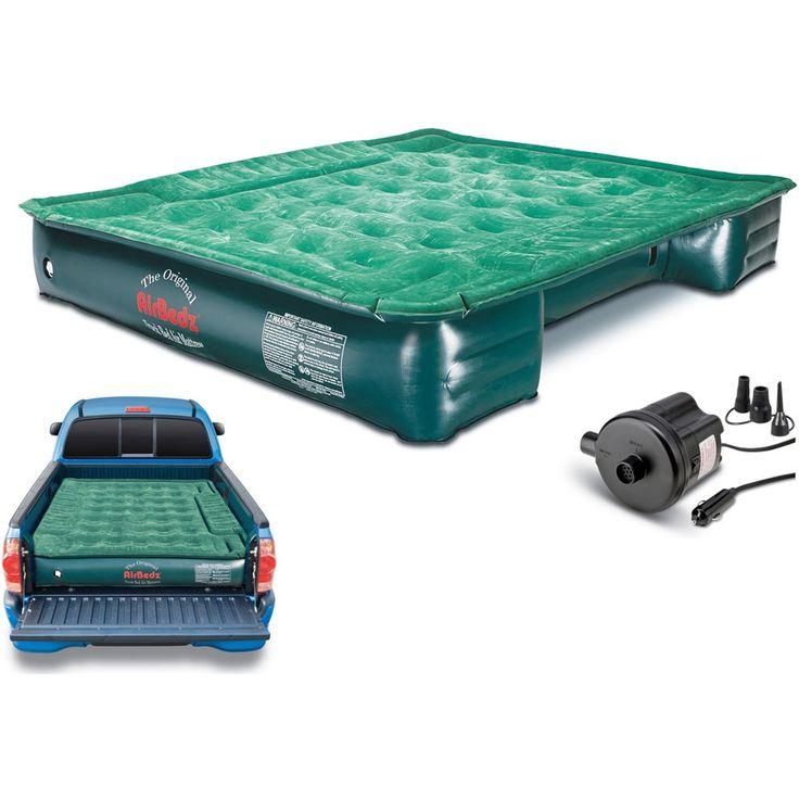 AirBedz Lite Truck Bed Air Mattress with 12V Portable Pump