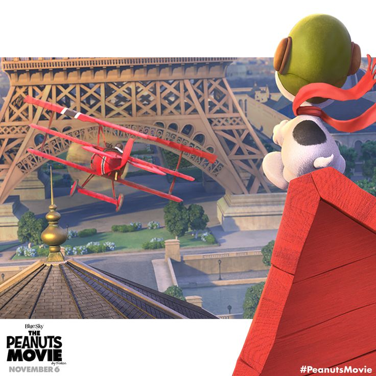 Soar with the Flying Ace! Snoopy and The Peanuts Movie are in theaters November 6.