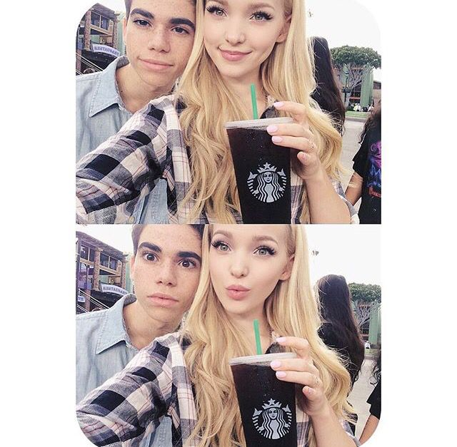 Dove Cameron and Cameron Boyce