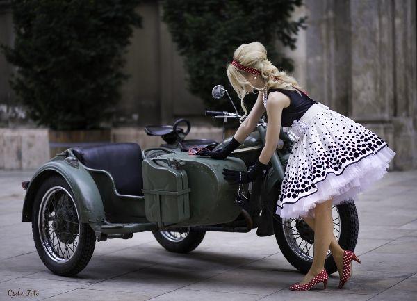 retro minden ízében - retro everywhere - 50s fashion