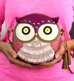 Hey, I found this really awesome Etsy listing at https://www.etsy.com/listing/167478884/leather-round-purse-owl-vavara-handmade