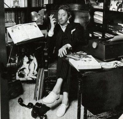 Repetto portées par Gainsbourg