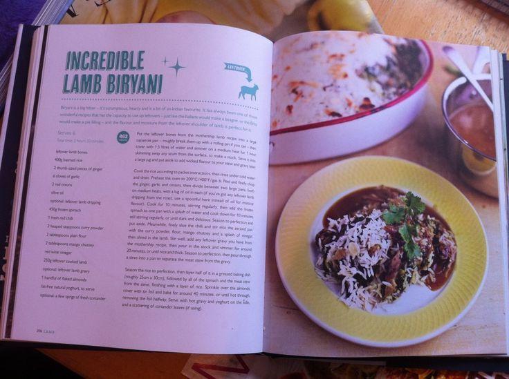 Jamie Oliver-inspired Leftover Lamb Biryani