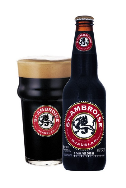 Yum. #StAmbroise Oatmeal #Stout. Full-bodied w/ dark roasted coffee notes. Hailing from #Quebec.
