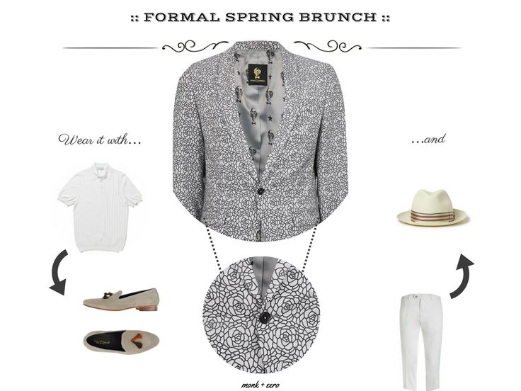 Style Guide: What To Wear To Sunday Brunch - M | E