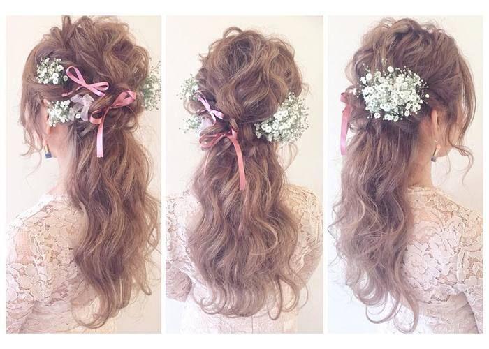 ショートからスーパーロングまで♡instagramで見つけた、【髪の長さ別】可愛い花嫁ヘアカタログ*のトップ画像