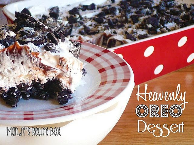 Heavenly Oreo Dessert: Recipe Boxes, Health Desserts, Fun Recipe, Mandy Recipe, Butter, Oreo Desserts, Food Processor, Healthy Desserts, Heavens Oreo