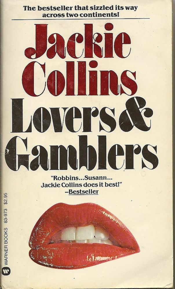 Lovers & Gamblers by Jackie Collins (1980, Paperback)