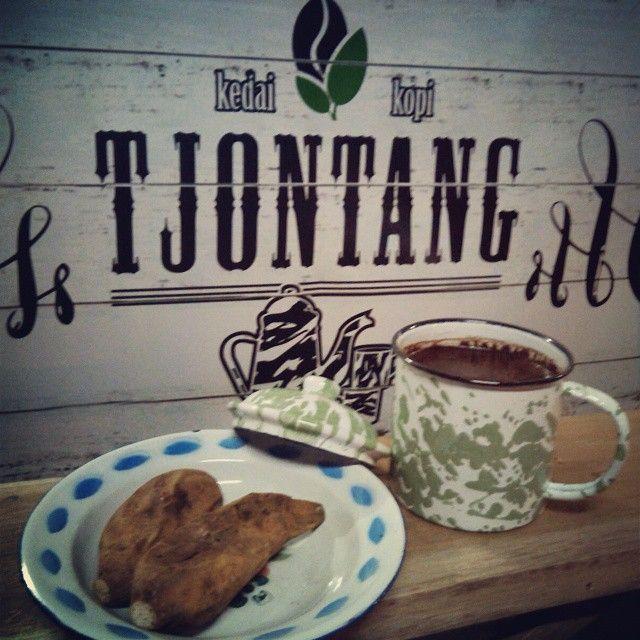 one of menu Kedai Kopi Tjontang