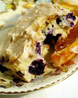 Orange & Nutmeg Blueberry Cake--trying this out today, but subbed ...