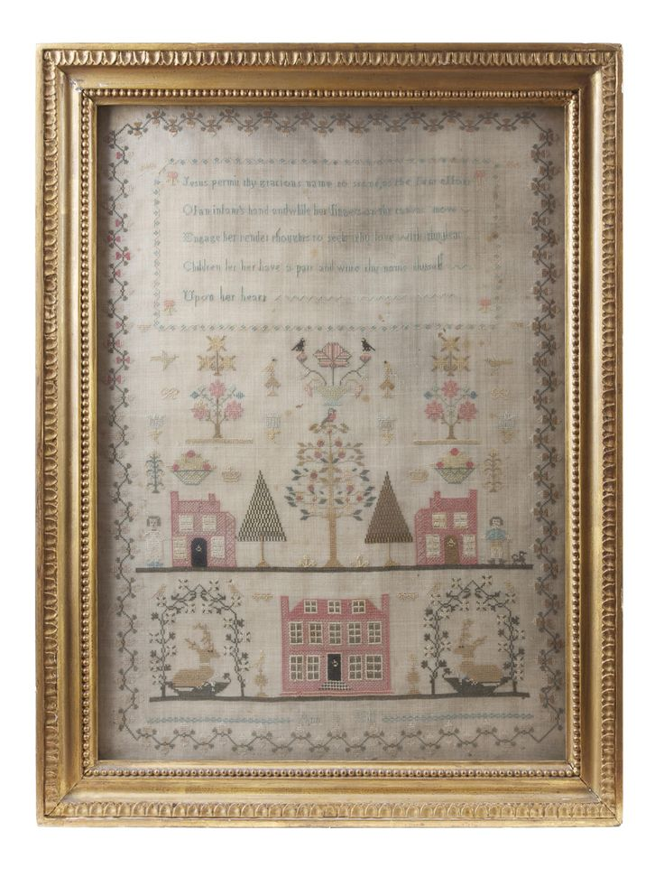 161 Best Nineteenth Century Samplers Images On Pinterest