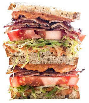 BLT 2.0 – Bacon, Lettuce and Tomato Mayonnaise