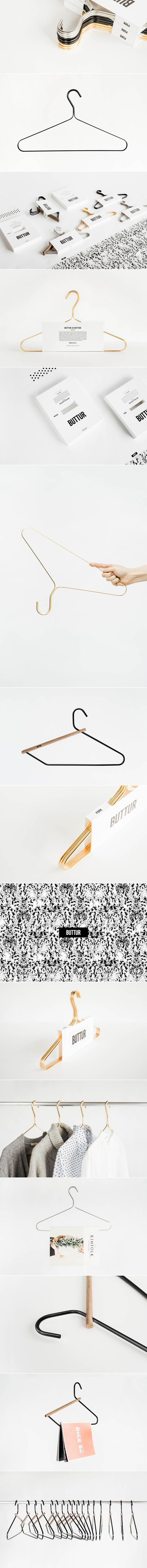 Packaging for Buttur Clothing Hangers