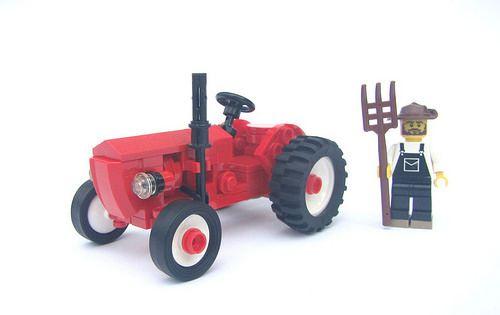 Lego Porsche Super Diesel Tractor