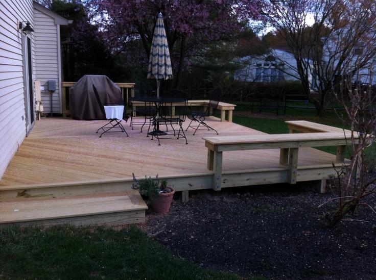MD  Wood Deck