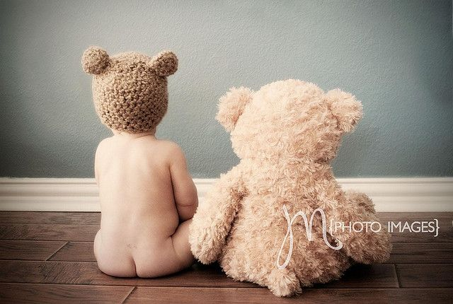 Love these little hiney cheek baby photos!