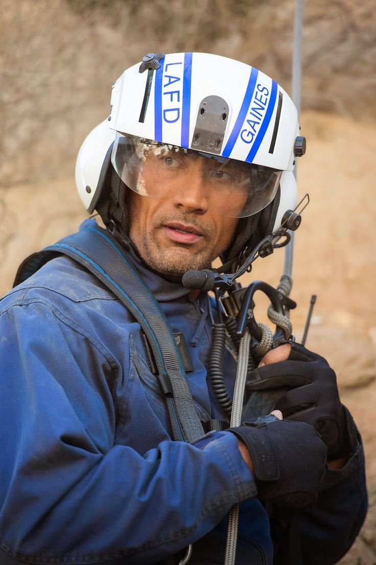 Image of Dwayne Johnson in the disaster flick San Andreas