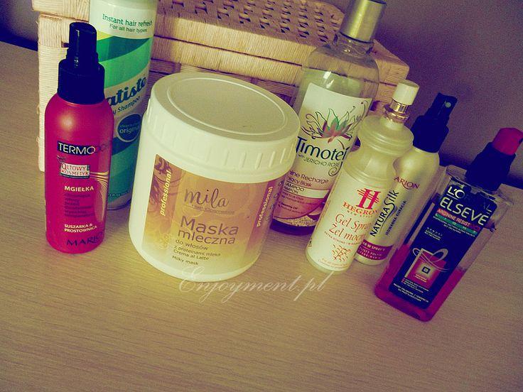 Pielęgnacja włosów czyli jak mieć zdrowe, dlugie i piękne włosy