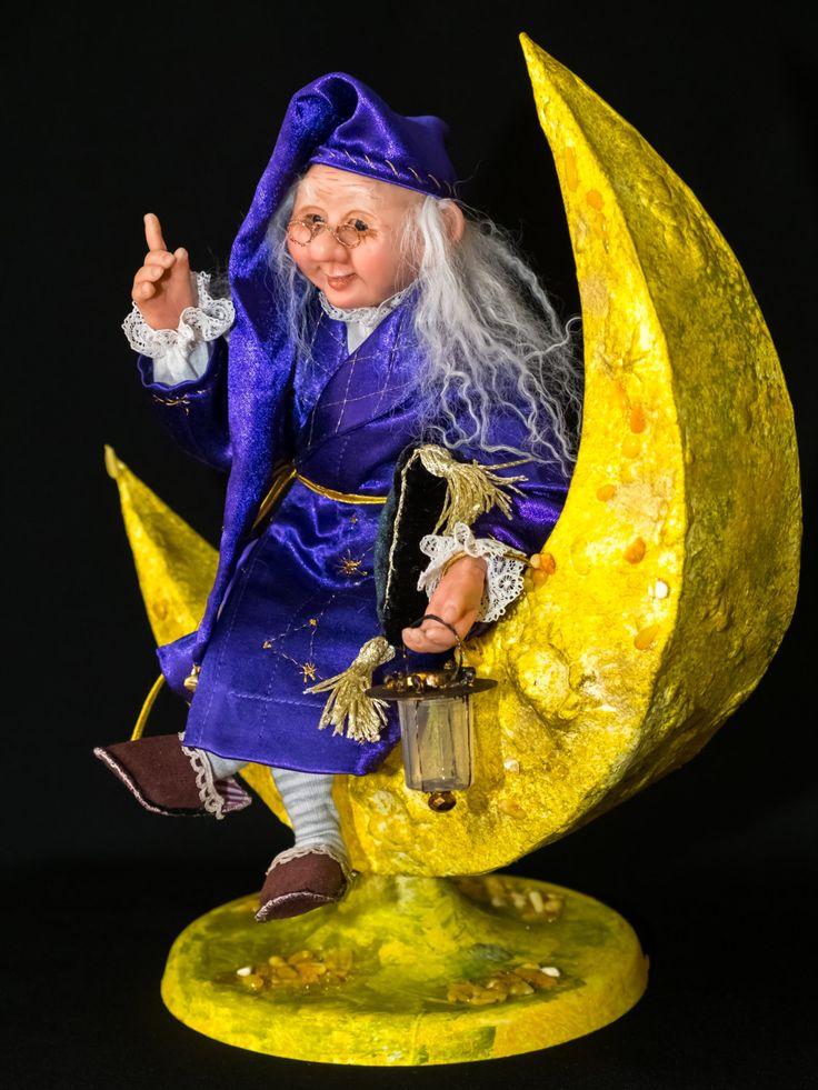 Старичок с Луны by ArtDollsLL on Etsy