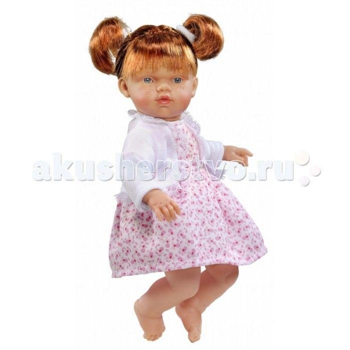 ASI Кукла Ната 25 см 443790  ASI Кукла Ната 25 см 443790 с симпатичным личиком и очаровательным нарядом!  Голова, руки и ноги у этой куклы выполнены из винила, а тело из ткани с наполнителем. У Наты пухленькие пальчики на руках и ногах, маленькие выразительные черты лица, живые глазки и розовые губки, приоткрытые в улыбке, придают ей особое очарование! У куколки Наты рыжие короткие волосы, собранные в два озорных хвостика, что придает ей задорный вид! Одета в платье с цветочным принтом и…