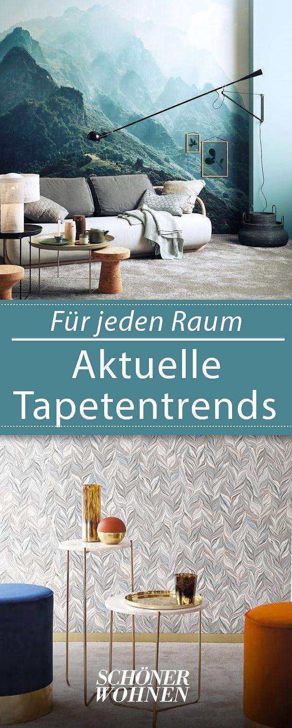 Tapetenmuster Trends Fur Die Wand Tapetenmuster Tapeten Wohnzimmertische