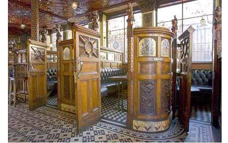 Inside The Crown Liquor Saloon, Belfast
